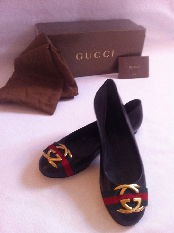 02b6830d28713d0396180b76f8764355--gucci-flats-sexy-feet Collection Gucci Chaussures & Sacs : Gucci Flats Taille 8 | eBay