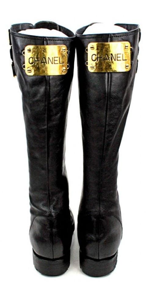 1bef14d5e838760b1e27c354e923fe75--fur-boots-combat-boots Chaussure CHANEL : Chanel Combat Boots, le mode commando en version luxe :-)