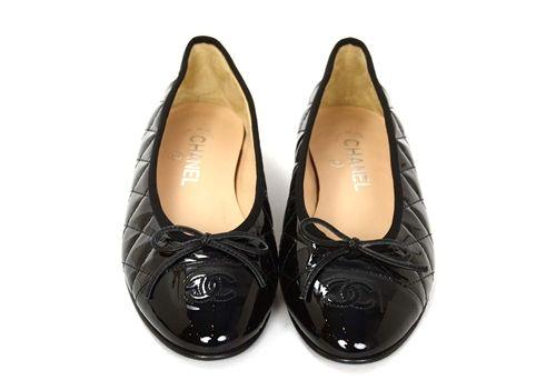 90e2e90091f 4b7c510b895eabec952ac14eb61a86df--chanel-shoes-chanel-black Chaussure CHANEL    Chanel Black Patent