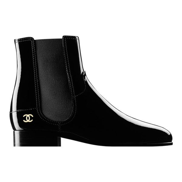 c0ee7fa37a4d 7c377c25e35f39dae5cb61c207a845e4--bootie-boots-shoes-boots-ankle Chanel  Shoes   black