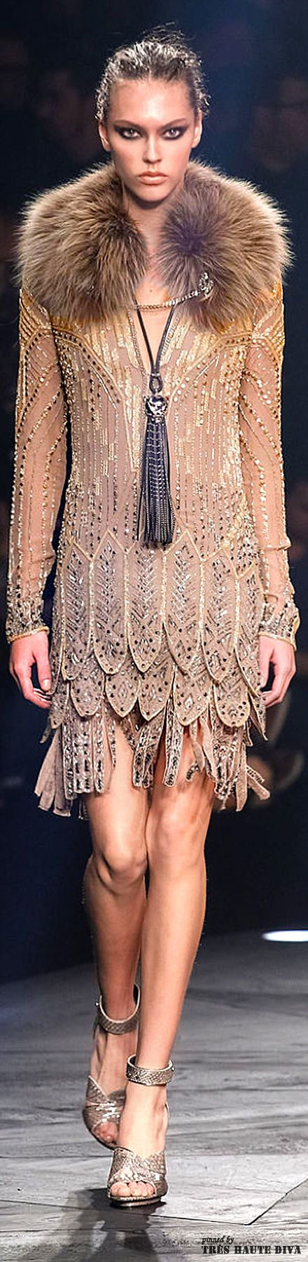 7c4930a5f344ef56dfd8b351f838c077--milan-fashion-weeks-london-fashion Collection Roberto Cavalli  : Roberto #Cavalli Automne / Hiver 2014 RTW