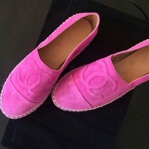 9457cd06bd348d2dfaa9e9c3dae31ce1--pink-loafers-chanel-loafers Chaussure CHANEL : luxurylearry: ❤