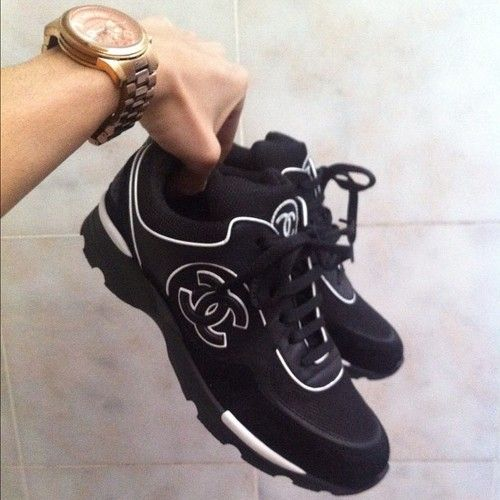 Chanel Shoes : chanel sneaks! I want