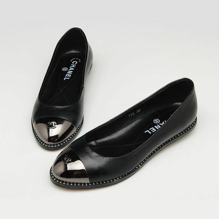 08467531b82064fb4188800f52568af6--chanel-shoes-flats-chanel-ballerina-flats Chaussure  CHANEL 9120d41ddda