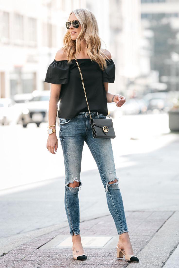 Chaussure Chanel Fashion Jackson Blogger De Dallas