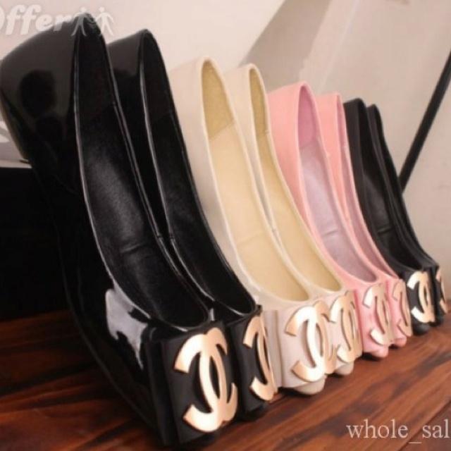d269b3231baef5e7c473d82ab7879b05--chanel-flats-coco-chanel Chaussure CHANEL : Chanel flats