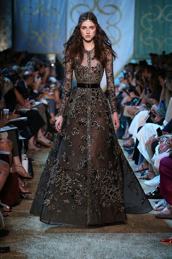 f70e2bfe3f8b62f619f68140d34120cf Elie Saab - Haute Couture  : ELIE SAAB Haute Couture Automne Hiver 2017-18