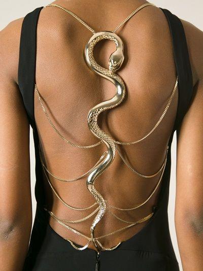 f728bf44a1b56ec91d130251e0c214bb--beautiful-snakes-hogwarts-houses Collection Roberto Cavalli  : ROBERTO CAVALLI - robe à bretelles serpent gtl.vêtements / ... GTL #getthelook #robert ...