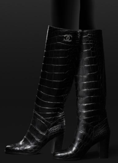 09afa83c36f Achetez élégant chanel chaussures mode femme bottes chanel pas cher ...
