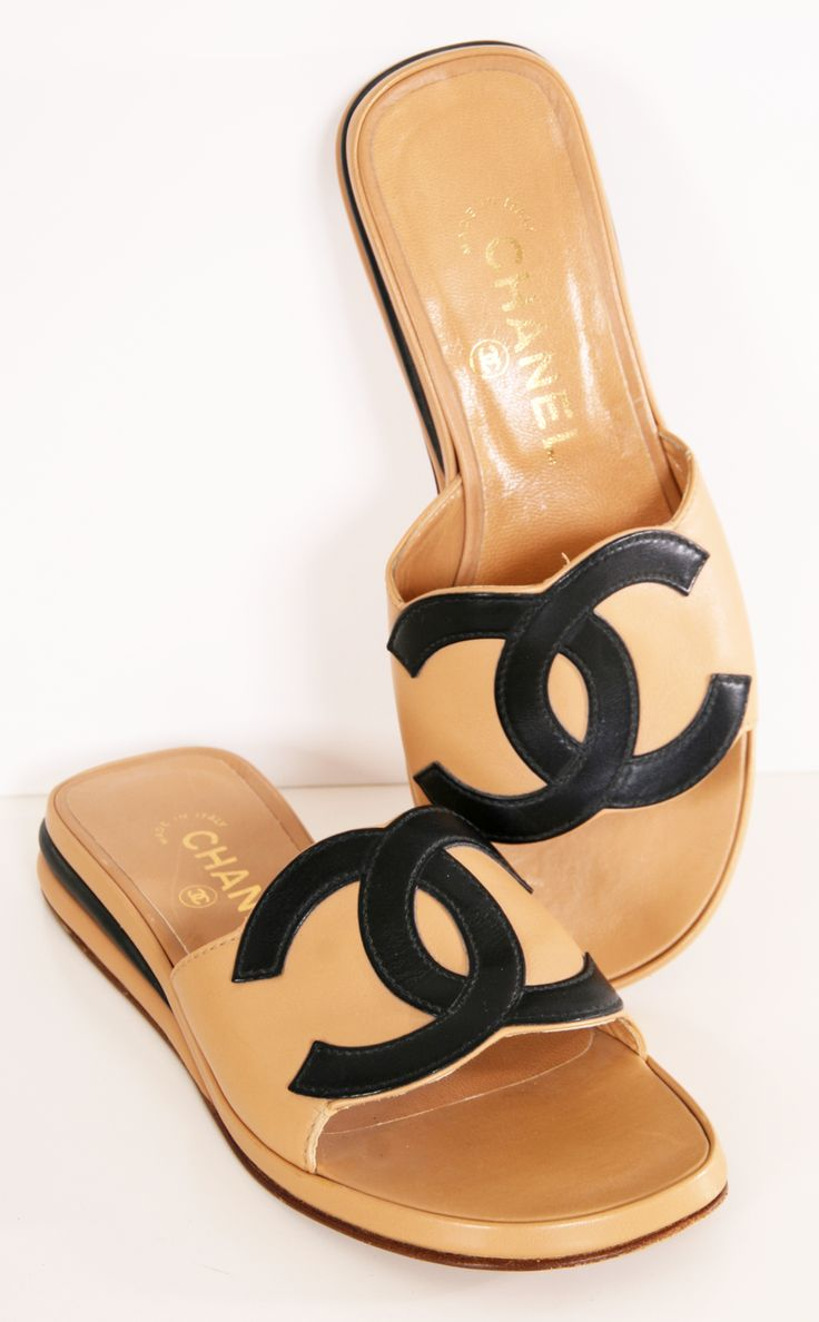 565f0c6928e909c67e0db9366983d2e3--chanel-sandals-chanel-shoes Chaussure CHANEL : CHANEL
