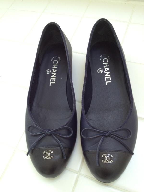 90ddd76f423 4f86ef2ce044850fd68a78fad48c7ddb--chanel-ballet-flats-chanel-shoes  Chaussure CHANEL   Chanel