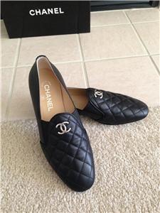 Chaussure CHANEL   Mocassins matelassés C H A N E L - ModeHot.com ... 2f823923e19