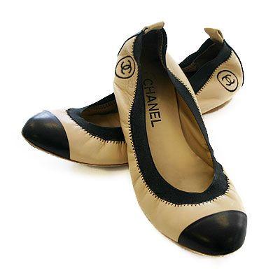 daa15814d50 9c5198c67d1706881dd3cc21bd35bfa3--chanel-ballerina-ballerina-flats  Chaussure CHANEL   chanel ballet flats