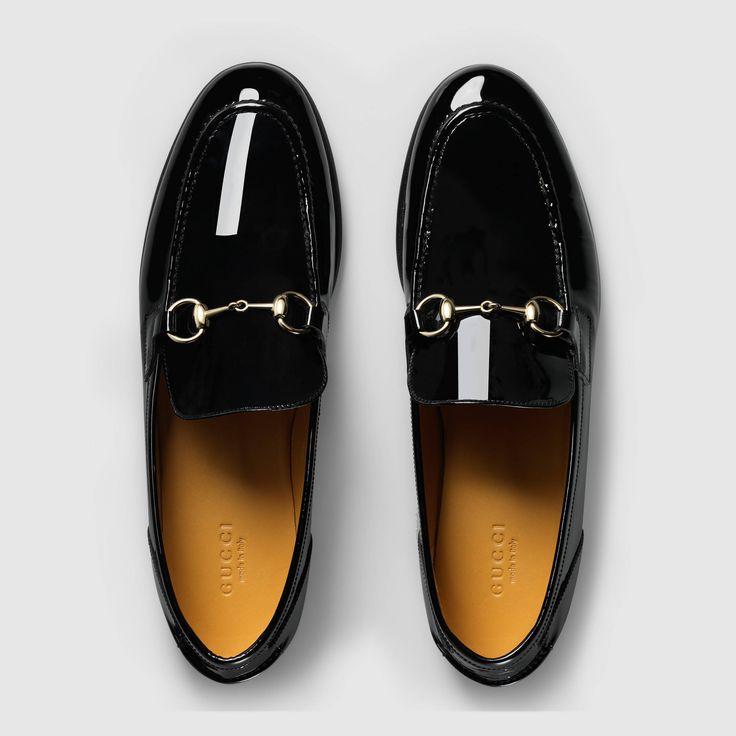 gucci chaussures gucci women mocassin en cuir verni