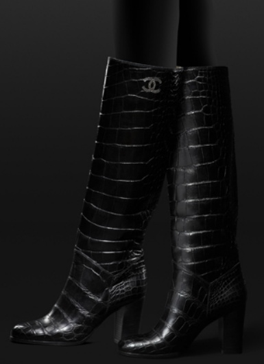a4cd8e578012c848e5d04c7c8c100b9b--chanel-boots-chanel-chanel Chaussure CHANEL : Chanel.