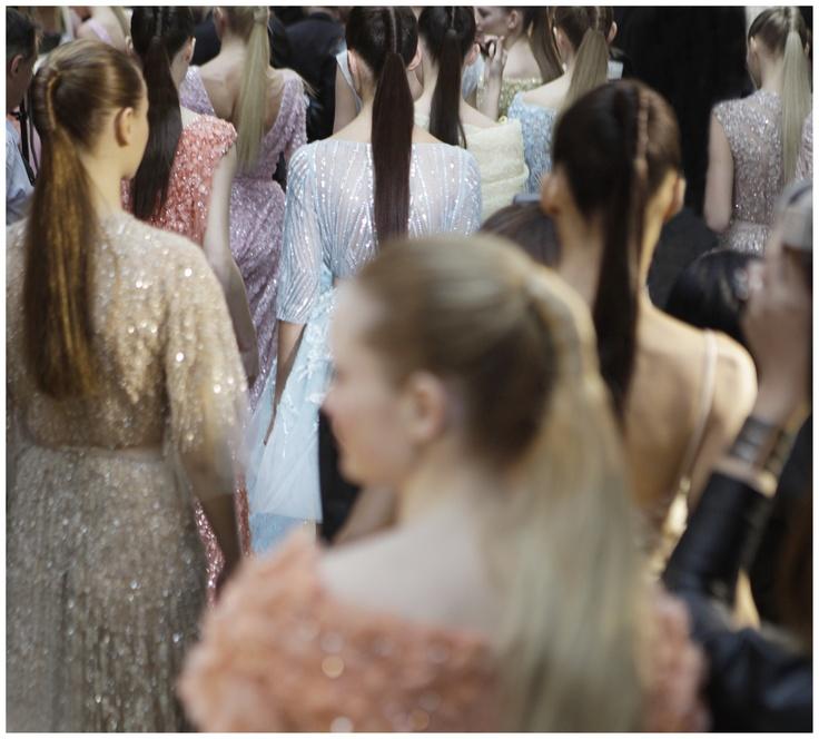 116b2dddcbcba41a05d6dcb8e47f7475--elie-saab-couture-elie-saab-spring Elie Saab - Haute Couture  : ELIE SAAB Haute Couture Printemps Eté 2012 - En coulisses