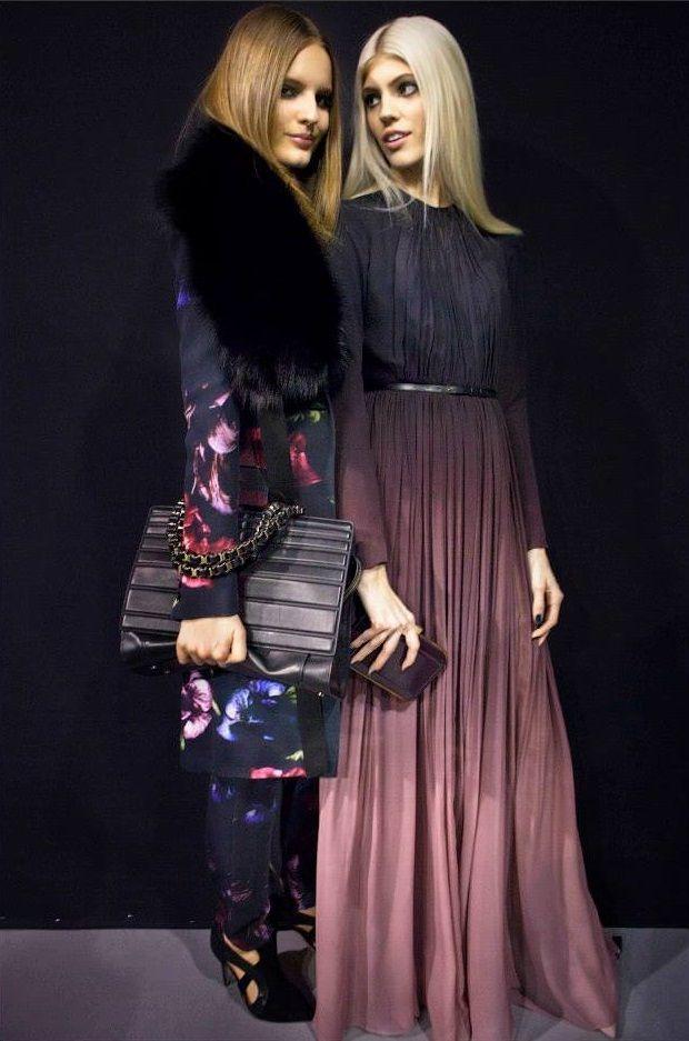 72ab772c95f265f1d048fcae980b46d4--elie-saab-fall-style-outfits Elie Saab - Prêt-à-porter : ELIE SAAB Prêt-à-Porter Automne Hiver 2014-2015 - Backstage