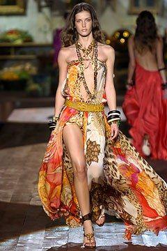 16e2370e4e Collection Roberto Cavalli   Roberto Cavalli Spring 2005 Ready-to-Wear  Fashion Show. 2 décembre 2018