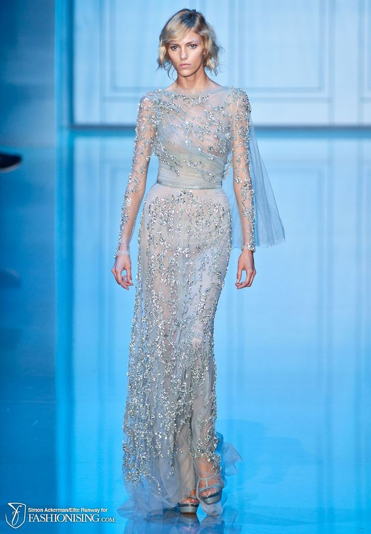 6fd00f070022fe1103829669588ba50f--ice-queen-evening-gowns-dresses Collection Elie Saab  : Elie Saab HC AW '2011