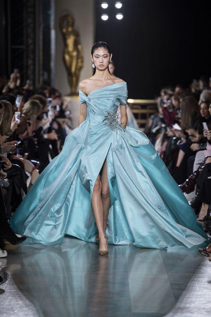 22c497e93affce670c18e5f032f51c79 Elie Saab - Haute Couture  : ELIE SAAB Haute Couture Printemps Eté 2019