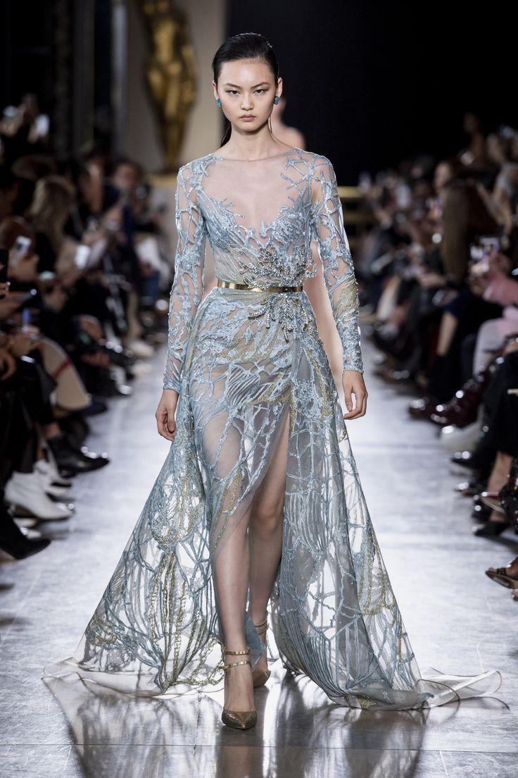 e0713b3ac0d2ba4dad85f59f9569ed62 Elie Saab - Haute Couture  : ELIE SAAB Haute Couture Printemps Eté 2019