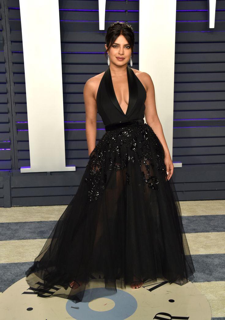 2af4ad6361d6979e01ab66eb1dede4a7 Elie Saab - Collection Tapis Rouge  : Priyanka Chopra dans ELIE SAAB Haute Couture à la soirée des Oscars 2019 de Vanity Fair.