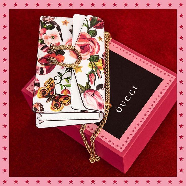 6920998a6c9aa1cca38a7d74ff478925--secret-gardens-the-collection Collection Gucci Chaussures & Sacs : Présentation du sac #GucciGarden Dionysus. Article fabriqué en cuir imprimé avec le ...
