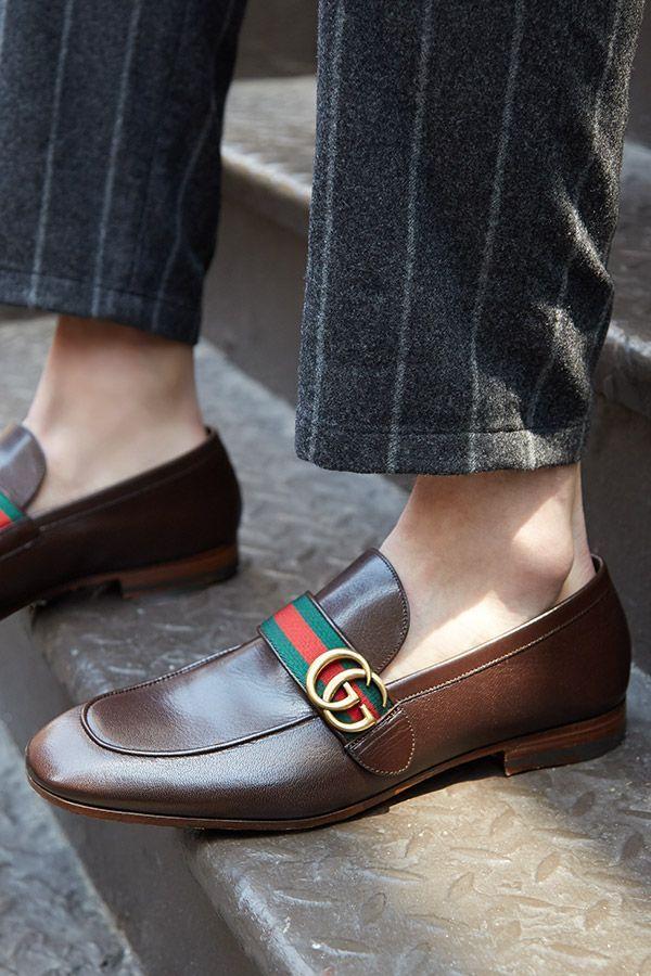 0c7564fd5f150aa02085992df47cca80--gucci-dress-gucci-shoes Gucci Chaussures  : Les meilleures chaussures et chaussures pour hommes: de nouvelles façons de porter un vieux classique. Découvrez une version surélevée de cet humble ...