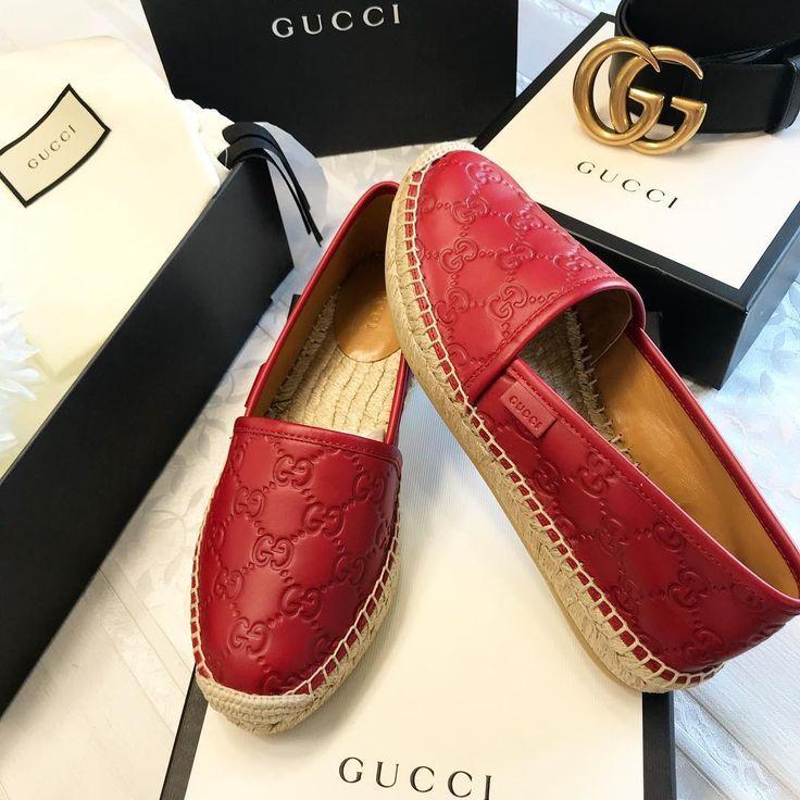 26d95af6502c42334707661f8f473c17 Gucci Chaussures  : Gucci❤️ # gucci #espadrilles #guccilover