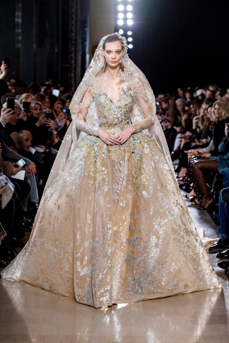f8861fa43a3c59ee9ccc74189112396c Elie Saab - Haute Couture  : ELIE SAAB Haute Couture Printemps Eté 2019
