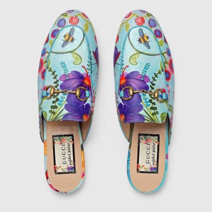 48d93dd5d44517ee2857726fe5c9f485 Gucci Chaussures  : Gucci Pantoufle non qualifiée de Princetown - Détail 3