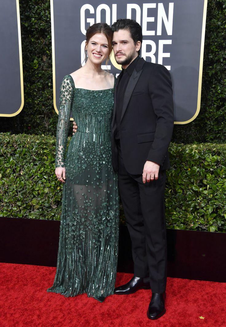06862231e4c284bd63da0fb516f0264d Elie Saab - Collection Tapis Rouge  : Rose Leslie assiste à la 77e cérémonie des Golden Globe Awards à ELIE SAAB Autumn Wint ...