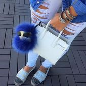 19c024aec622fc0cdb2fd0d0bdf16e69 Yves Saint Laurent bag : YSL sac de jour bag white