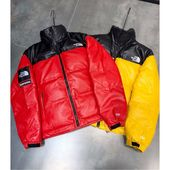 3d9080268a8b0073e9c91adca6103101 Supreme : Leather Down Jacket Supreme,Supreme Leather Down Jacket,6745T-404700 Supreme & THE NORTH FACE Crossover stitching down cotton l