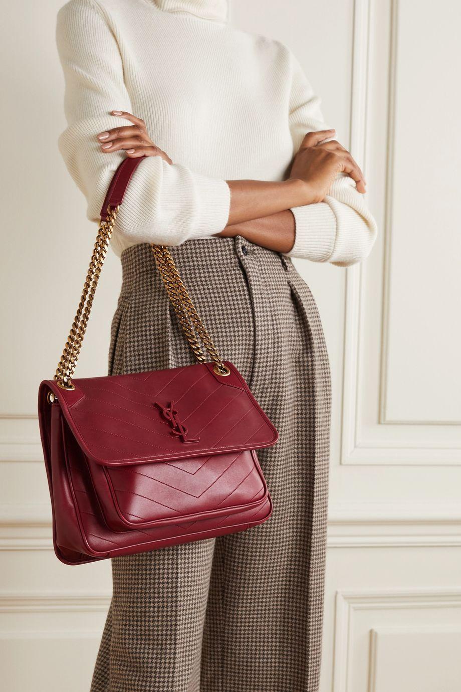 13fcfd334c8ed0ccd07662d5b0808c1d Yves Saint Laurent bag : Niki medium quilted leather shoulder bag