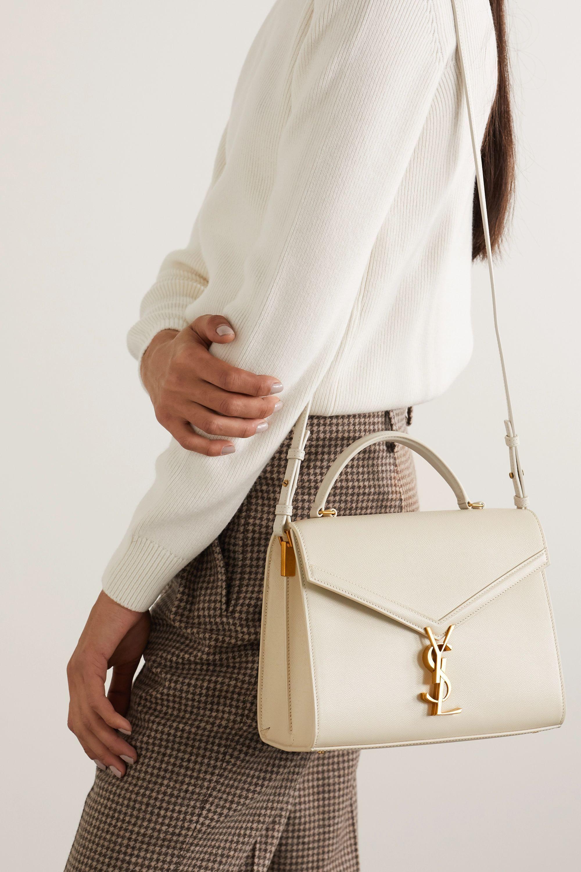 42d7e0381a097a424630b3dc9fd9f145 Yves Saint Laurent bag : Cassandra medium textured-leather tote