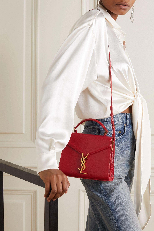95e53d81178082d91b765c2db2c8765c Yves Saint Laurent bag : Cassandra mini textured-leather tote