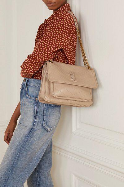 c3983ad532948b82b3f93196fea9084b Yves Saint Laurent bag : Saint Laurent Niki Medium Quilted Leather Shoulder Bag